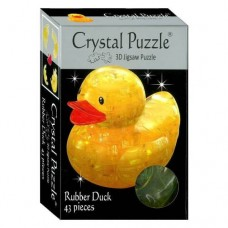 3D Crystal Puzzle - Duckie