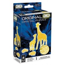 3D Crystal Puzzle - Giraffes