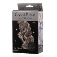 3D Crystal Puzzle - Thinker