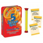 5 Second Rule Card Game in Tin