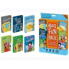 6 in 1 Card Games - Crazy 8's; Go Fish; Old Maid; Memory; Matching; Slap Jack
