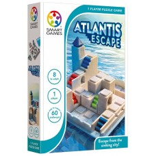Atlantis Escape Brain Challenge Game - Smart Games NEW