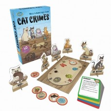 Cat Crimes - Logic Game - ThinkFun  NEW 2018