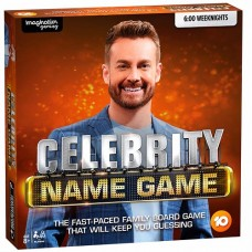 Celebrity Name Game Board Game Australian Edition