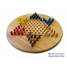 Chinese Checkers - Wooden - Fun Factory