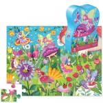 36 pc Crocodile Creek Puzzle - Fairy Garden