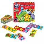Dinosaur Dominos Mini Game - Orchard Toys