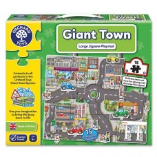 Giant Floor Puzzle Town - Orchard Toys