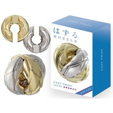 Hanayama Huzzle Cast Puzzle - Twist - Level 4