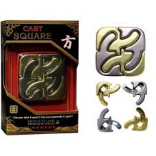 Hanayama Cast Puzzle - Square - Level 6