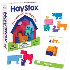 Hay-Stax Brainteaser Game - Brainwright