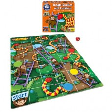 Jungle Snakes and Ladders Mini Game - Orchard Toys