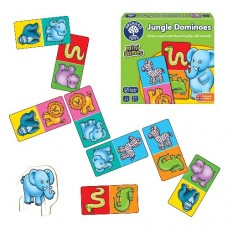 Jungle Dominos Mini Game - Orchard Toys