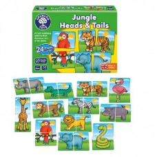 Jungle Heads & Tails - Orchard Toys  NEW in 2019