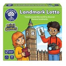 Landmark Lotto Mini Game - Orchard Toys