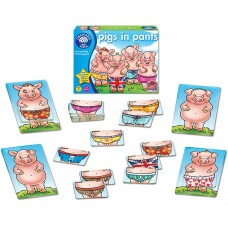 Pigs in Pants Game - Orchard Toys