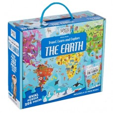 205 pc Sassi - Travel Learn Explore Earth Puzzle