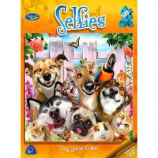 500 pc Holdson Puzzle - Selfies Dog-Gone Cute!