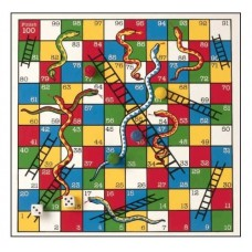 Snakes & Ladders - Wooden - Fun Factory