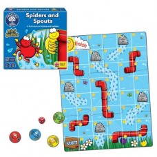 Spiders & Spouts Mini Game - Orchard Toys