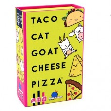 Taco Cat Goat Cheese Pizza Card Game - Blue Orange Games