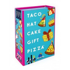 Taco Hat Cake Gift Pizza Card Game - Blue Orange Games COMING SOON