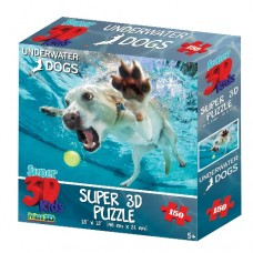 150 pc Puzzle - Underwater Dog Daisy