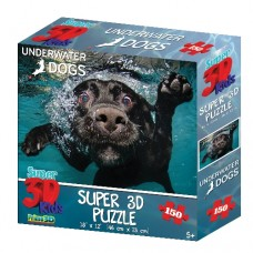 150 pc Puzzle - Underwater Dog Duchess