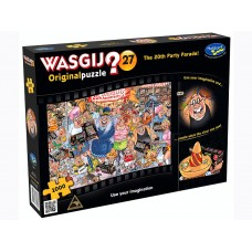 1000 pc Wasgij Puzzle Original #27 A Party Parade INCLUDES FREE PUZZLE-A-ROUND