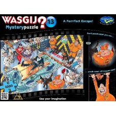 1000 pc Wasgij Puzzle Mystery #13 A Perfect Escape!
