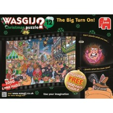 1000 pc Wasgij Puzzle Christmas #12 The Big Turn On