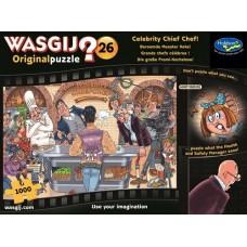 1000 pc Wasgij Puzzle Original #26 Celebrity Chef