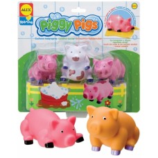 Piggy Pigs Bath Toys - Alex Toys