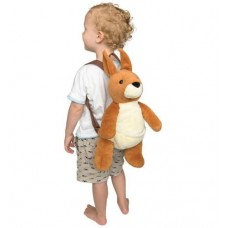 Kangaroo Plush Backpack - Australian Collection