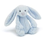 Bashful Bunny - Blue Medium Rabbit - Jellycat