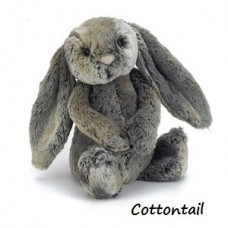 Bashful Bunny - Cottontail Medium Rabbit - Jellycat