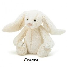 Bashful Bunny - Cream Medium Rabbit - Jellycat