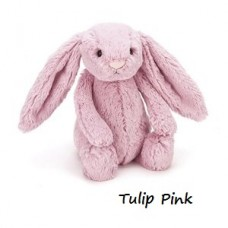 Bashful Bunny - Tulip Pink Medium Rabbit - Jellycat