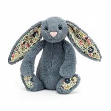 Bashful Bunny Small - Blossom Dusty Blue  Rabbit - Jellycat