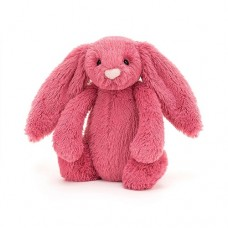 Bashful Bunny Small - Tulip  Cerise Rabbit - Jellycat