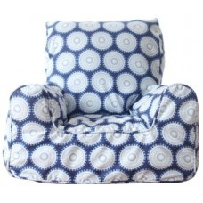 Bean Chair - Marbles Blue