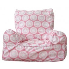 Bean Chair - Marbles Pink