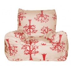 Bean Chair - Orchid Red