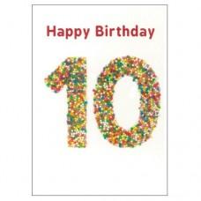 Birthday Card - Freckle - 10