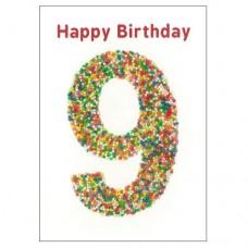 Birthday Card - Freckle - 9