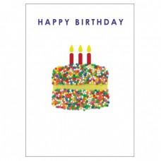 Birthday Card - Freckle - Cake