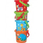 Bucket with Decoration 18cm  - Gowi