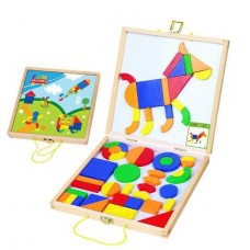 Magnetic Shapes - Build a Picture - Fun Factory