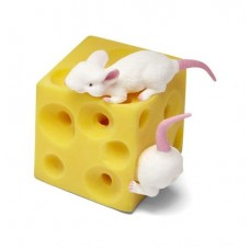 Cheese and Mouse Squeeze Toy