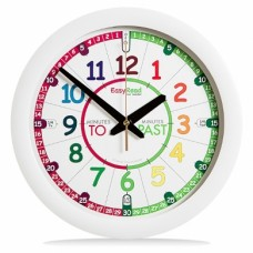 Clock - EasyRead Time Teacher - Rainbow Face